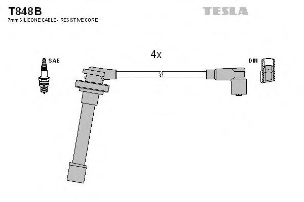 nissan almera n15 провода высоковольтные